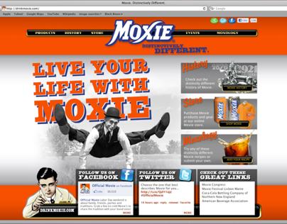 Moxie soda Homepage