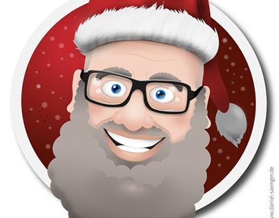 Christmas Card - Santa Claus
