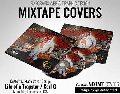 Mixtape Cover - Carl G / Life of a Trapstar