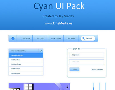 Cyan UI Pack (Free)