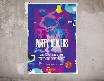 Party Dealers Poster