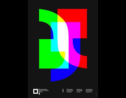 Riksutställningar Poster Series 2015