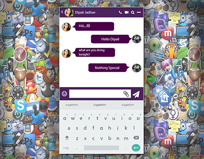 Chat UI Online Check