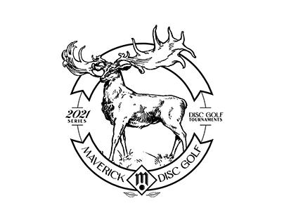 Maverick Disc Golf 2021 Series Stamp