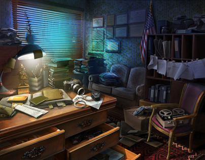 background for hidden object
