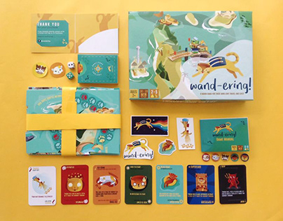 Wand-Ering: A board game on travel and cats