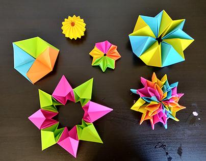 Origami Transformation toys
