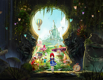 The strange dream to return to the wonderland of Alice