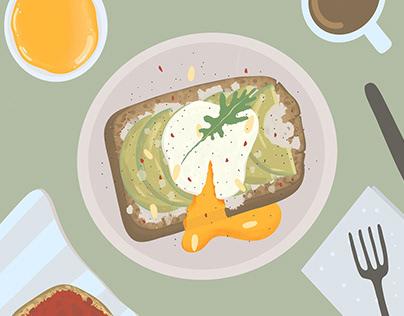 Illustration: brunch