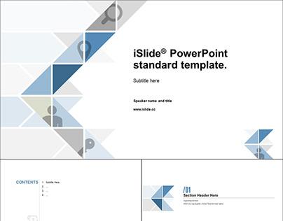iSlide Standard PowerPoint Template
