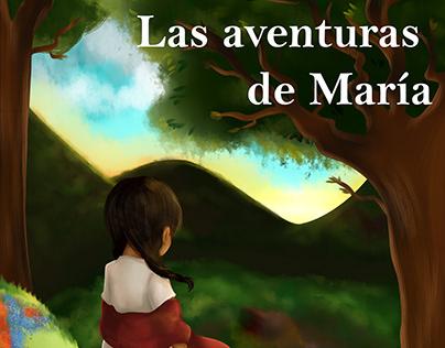 Ilustración Portada: Las aventuras de María