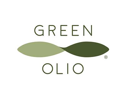 Green Olio olive oil branding