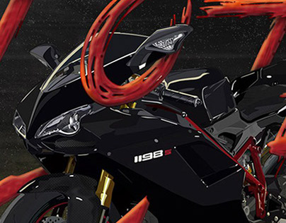 Ducati Illustration