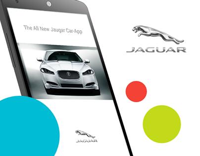 The All New Jaguar Car-App #MadeWithAdobexD