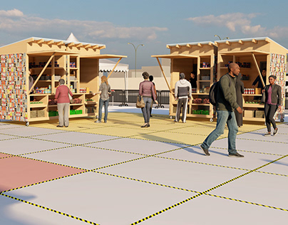 FOOD MARKET: A DESIGN INTERVENTION FOR COVID-19