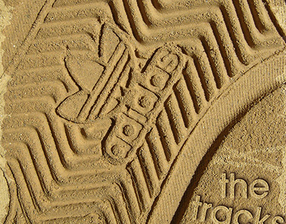 "Adidas ""the tracks are everywhere"""