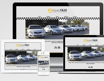 Rádio Táxi Criciúma - Site