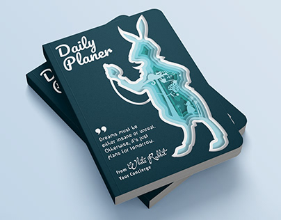 WHITE RABBIT, daily planner