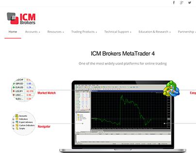 ICMBrokers Website