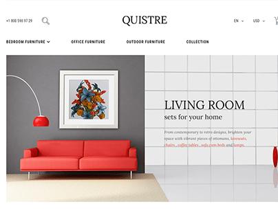 Design Quistre Magento woocommerce website