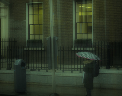 Under Dublin rain