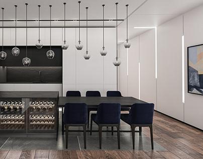Contemporary Apartment in Shekou