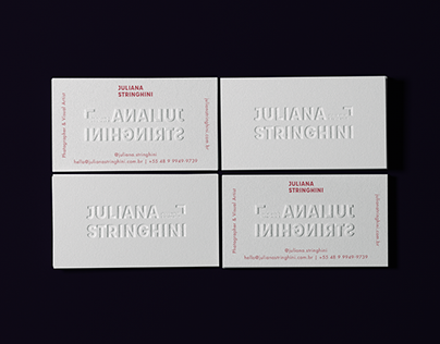 Juliana Stringhini | Visual Identity