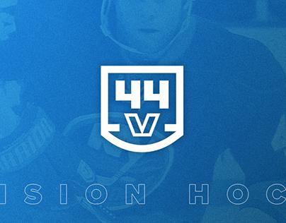 44 Vision Hockey Branding