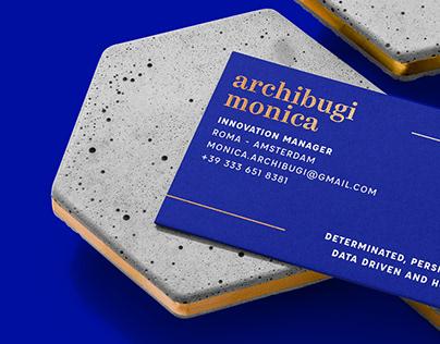 archibugi monica - brand identity