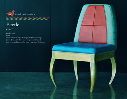 Furniture Beetle chair