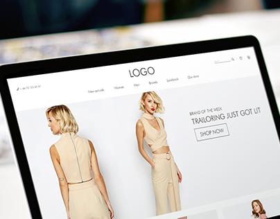 Fashion E-commerce Theme