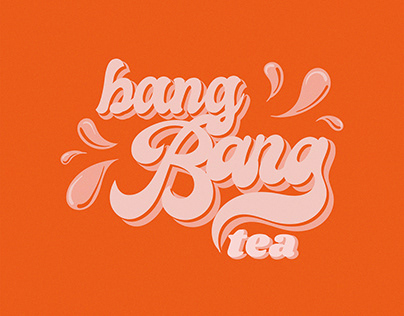 BangBang Tea Identity and Packaging