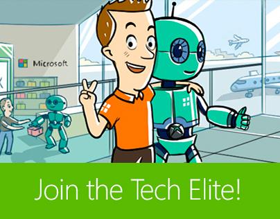 Разработка портала «Join the Tech Elite!»