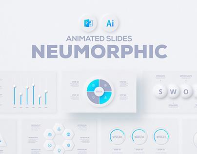 Free Neumorphic Powerpoint Presentation