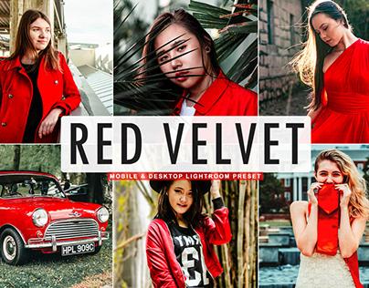 Free Red Velvet Mobile & Desktop Lightroom Preset