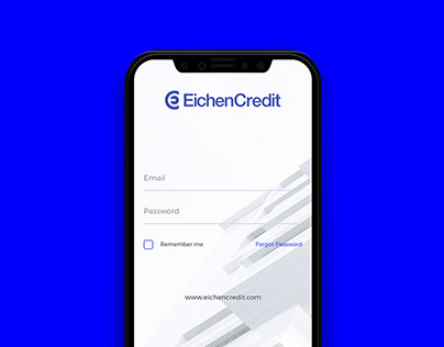 EichenCredit Berlin. Startup Digital UI/UX Design.