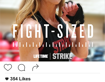 Lifetime Fitness Social Media Content