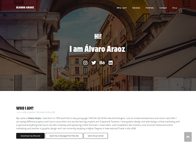 I'm Álvaro Web Desing