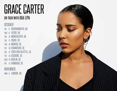 Grace Carter Tour Artwork