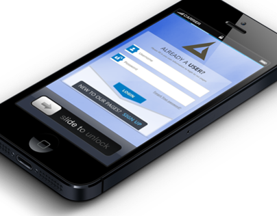 Login UI for Website/App