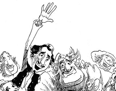 Comic book characters