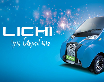 LICHI Mini Electric Car Branding