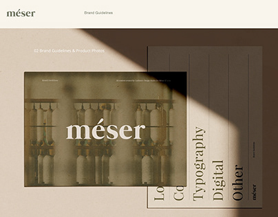 Meser Supply Brand Identity & Packaging Design