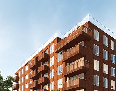 Nordhavnen Havnehuset Vest Residential Building
