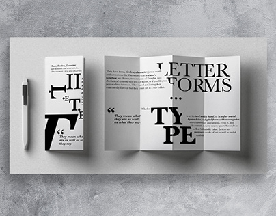 Accordion - Letterforms