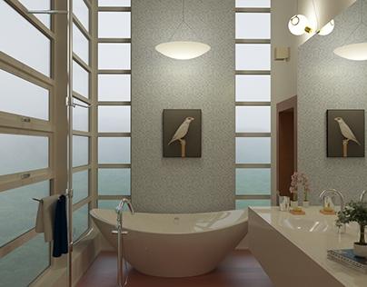 Bathroom Corona