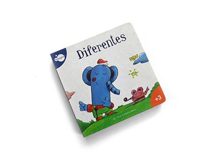 Diferentes (Álbum ilustrado)