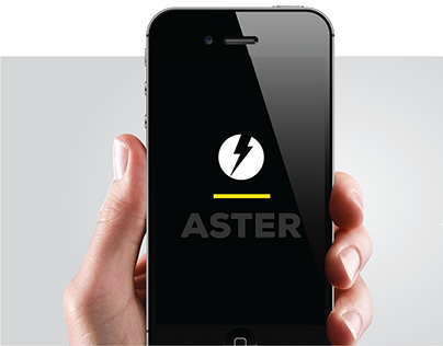 Aster- App design for Android and iOS