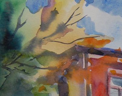 """Paintings """"en plein air"""""""