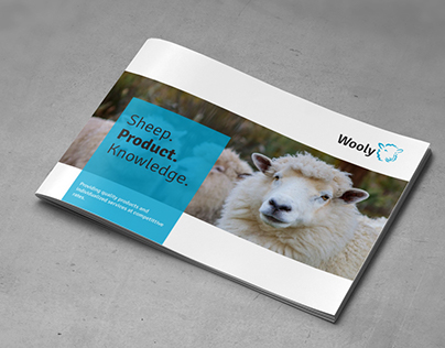 Sheep Farm Brochure - A5 Landscape
